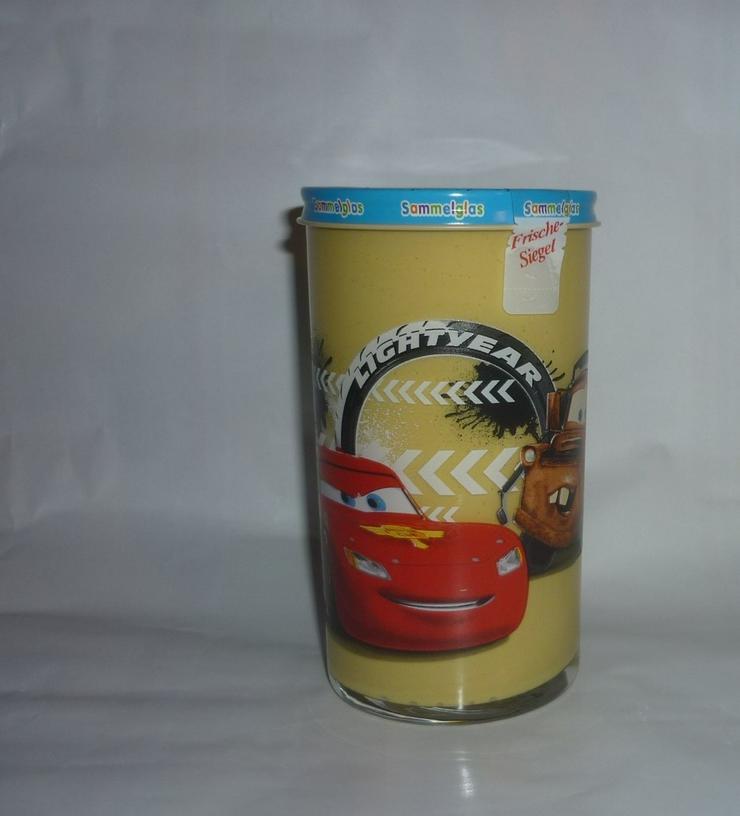 Bild 2: Bautzner Kindersenf Sammelglas Disney CARS Hook