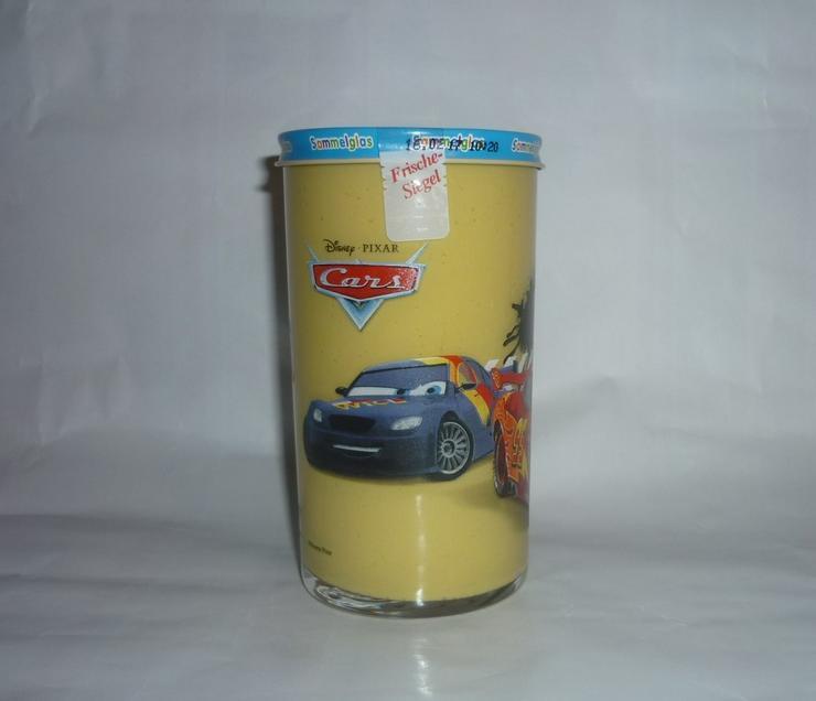 Bild 3: Bautzner Kindersenf Sammelglas Disney CARS Hook