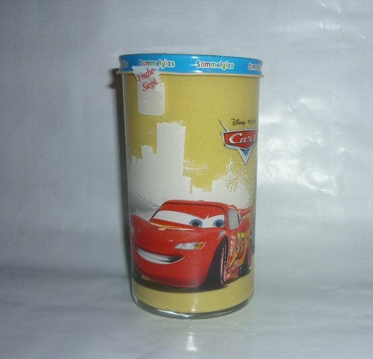 Bild 4: Bautzner Kindersenf Sammelglas Disney CARS Hook