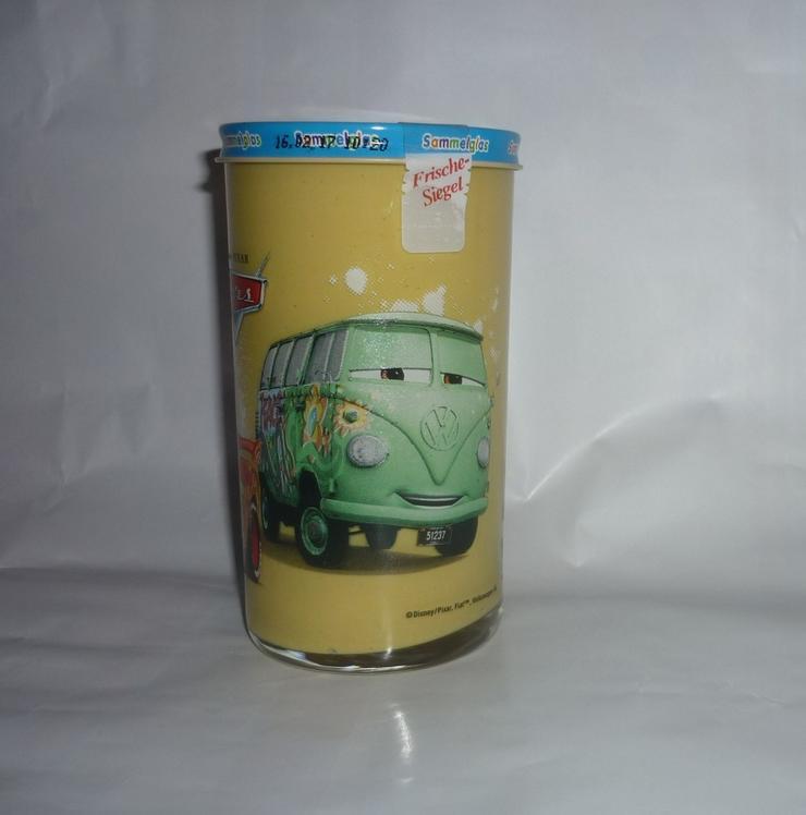 Bild 5: Bautzner Kindersenf Sammelglas Disney CARS Hook