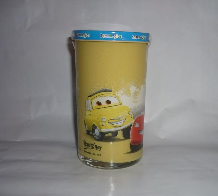 Bild 6: Bautzner Kindersenf Sammelglas Disney CARS Hook