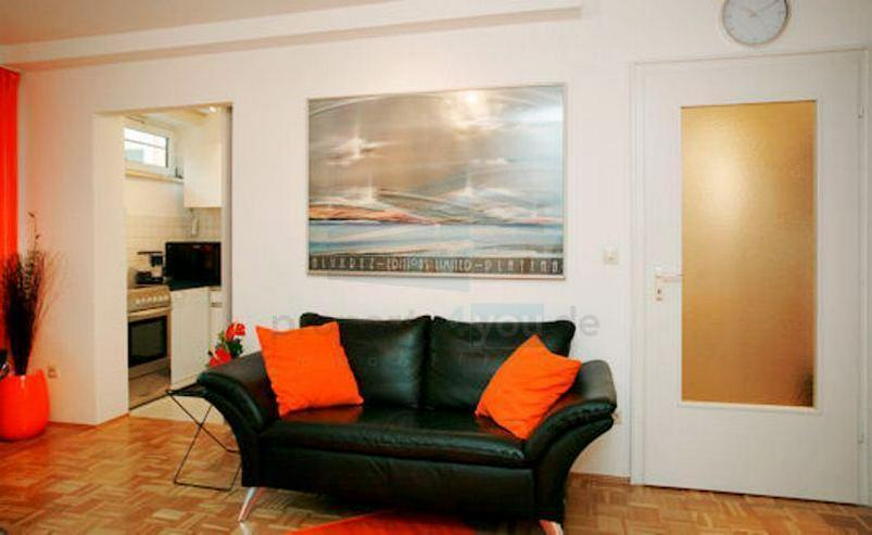 Bild 2: Ruhiges möbliertes 1-Zi. Apartment / München - Bogenhausen