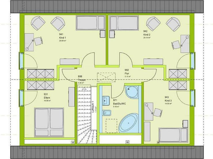 Bild 3: viele Zimmer ? Westünnen ?