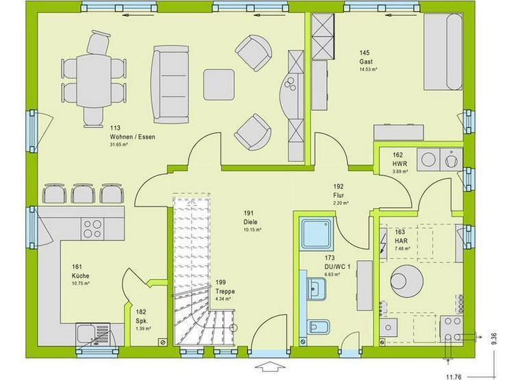 Bild 2: viele Zimmer ? Westünnen ?