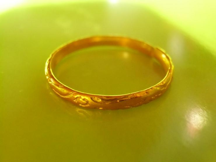 goldfarbiger Ring (neu)