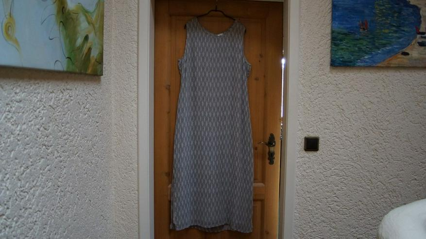 Kleid, Gr. XL, beige-grau, Usha, neu
