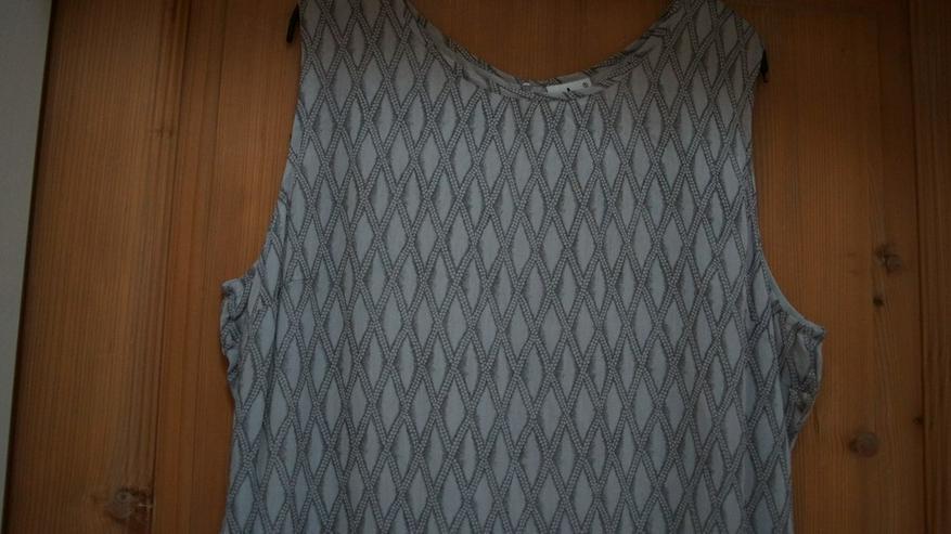 Bild 2: Kleid, Gr. XL, beige-grau, Usha, neu