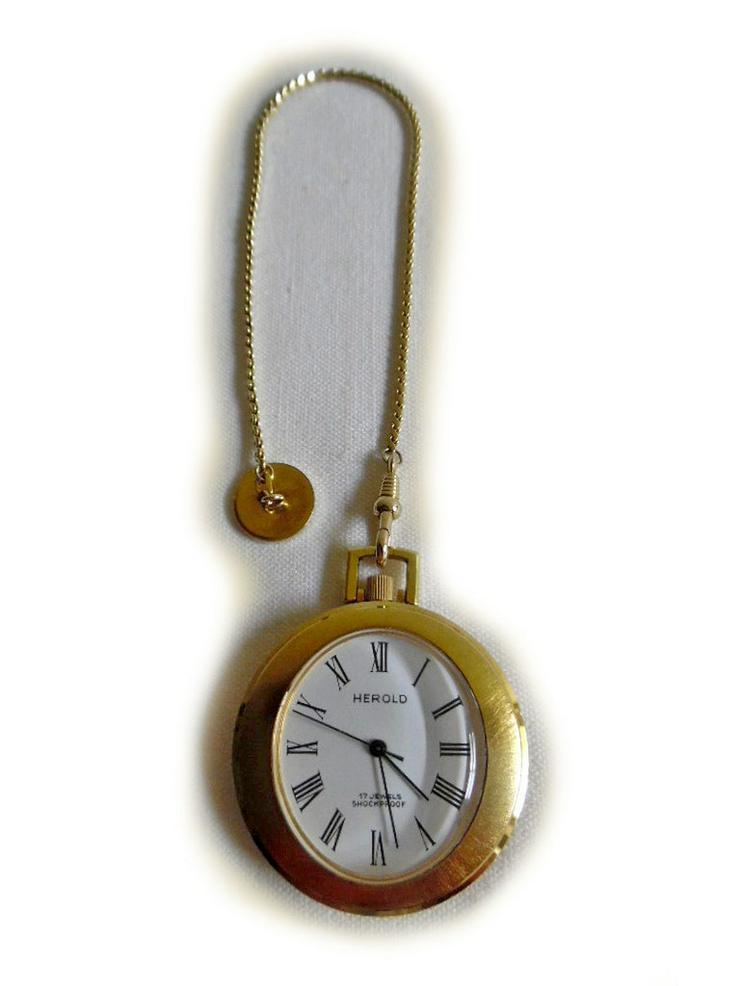 Goldene Taschenuhr von Herold