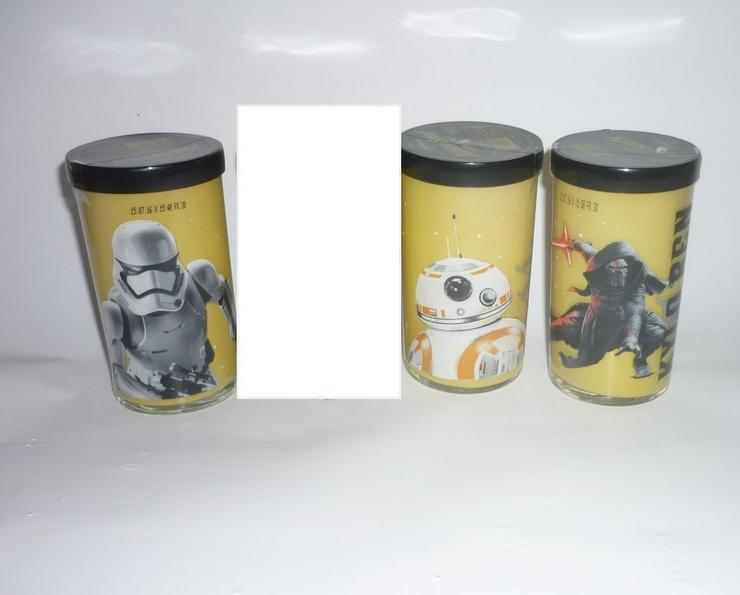 Bild 2: STAR WARS 3er Pack Chewie Stormtrooper BB-8