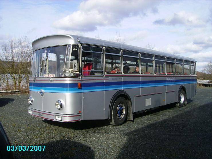 SAURER Oldtimer-Bus 5 DUK 58