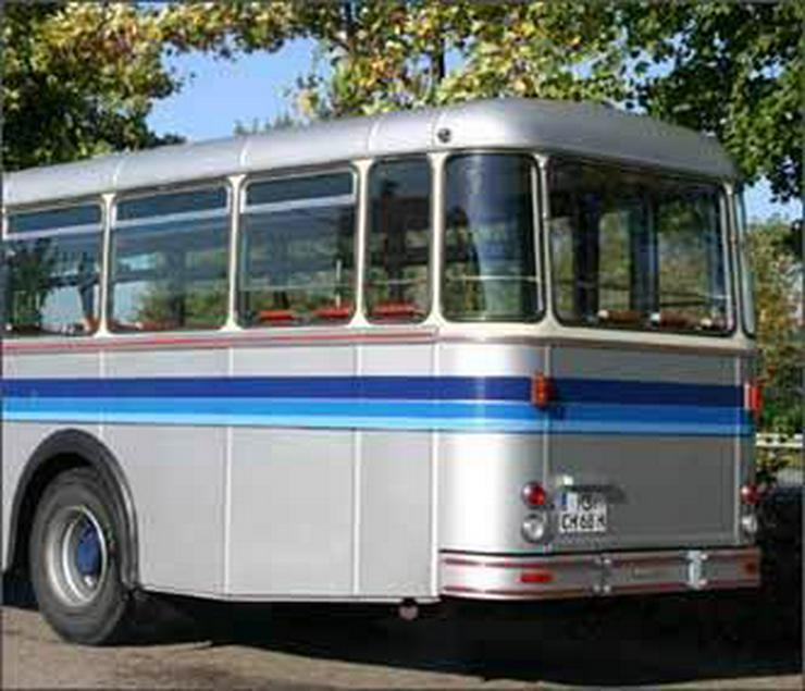 Bild 3: SAURER Oldtimer-Bus 5 DUK 58