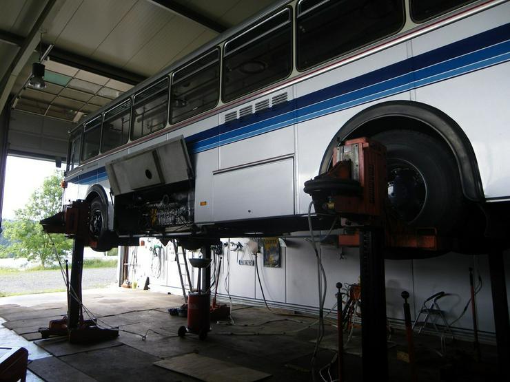 Bild 5: SAURER Oldtimer-Bus 5 DUK 58