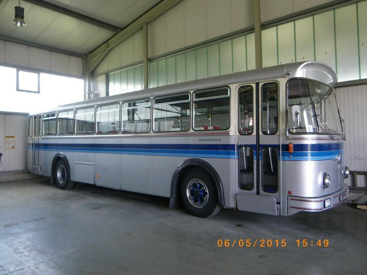 Bild 6: SAURER Oldtimer-Bus 5 DUK 58