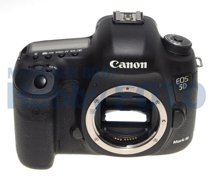Canon EOS 5D Mark III nur 51968 Auslösungen