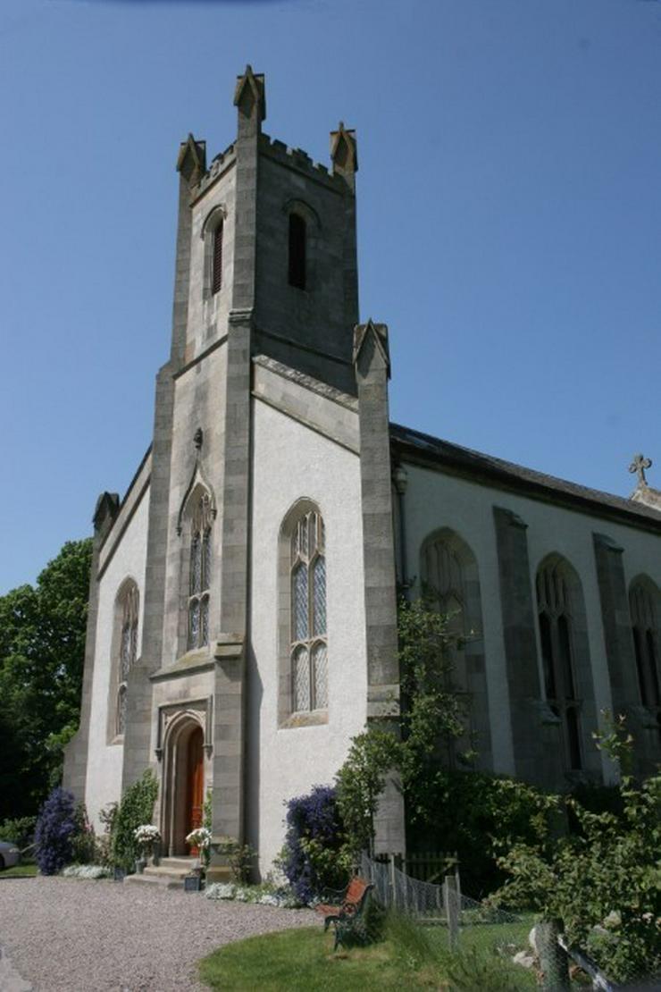 Komfortable ausgebaute Kirche in Schottland
