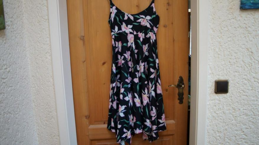 Kleid, Gr. 34, schwarz-bunt, Cheer, neu