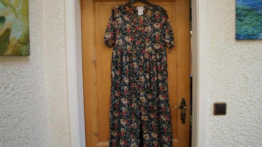 Kleid, Gr. 38, schwarz-bunt, Nice Day, neu
