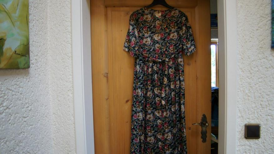 Bild 5: Kleid, Gr. 38, schwarz-bunt, Nice Day, neu