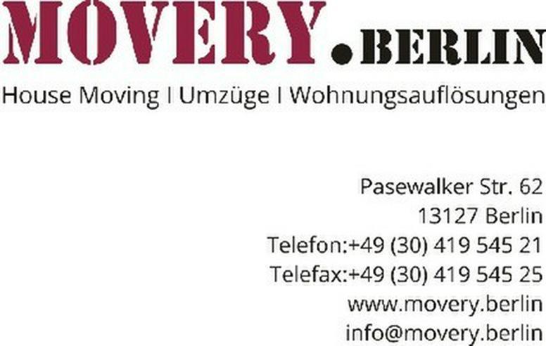 bilder zu movery berlin kein umzug gleicht dem anderen in berlin franz sisch buchholz auf. Black Bedroom Furniture Sets. Home Design Ideas