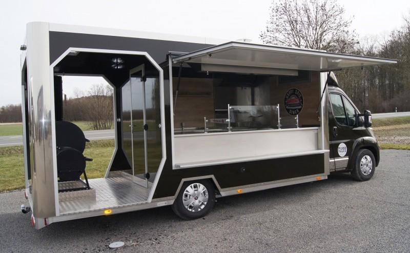 Veranda Truck mit Pulled Pork Ausstattung