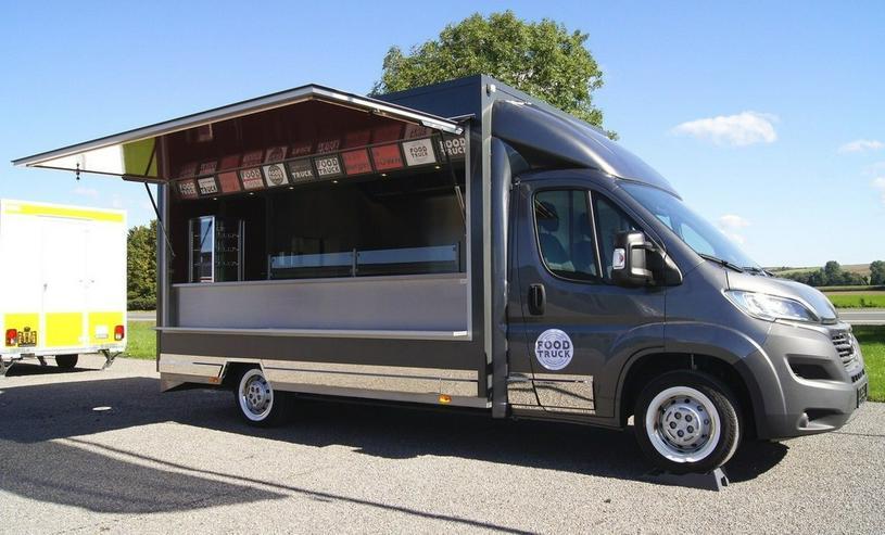 6,00m x 2,30m Burger Food Truck