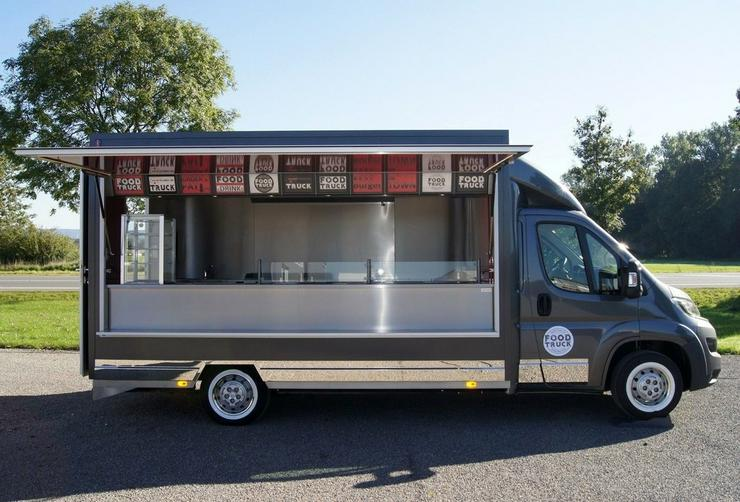 Bild 4: 6,00m x 2,30m Burger Food Truck