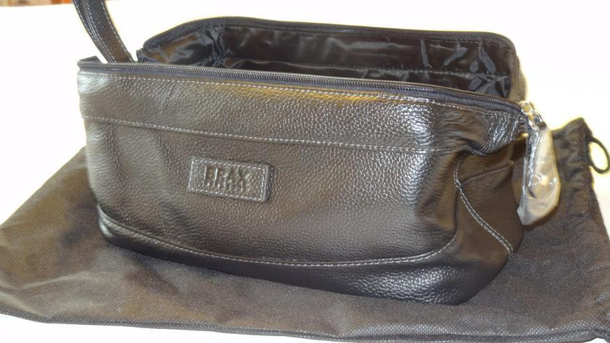 Bild 2: Lederkulturtasche für Herren von Brax