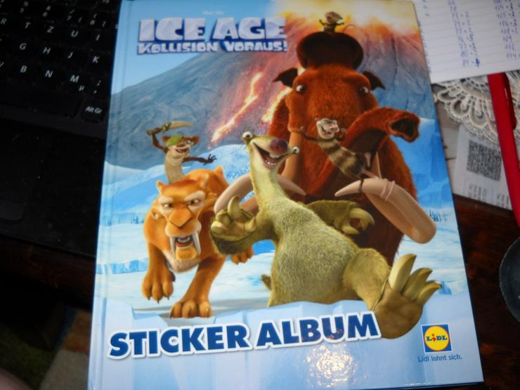 ICE AGE Kollision vorraus Sticker von Lidl