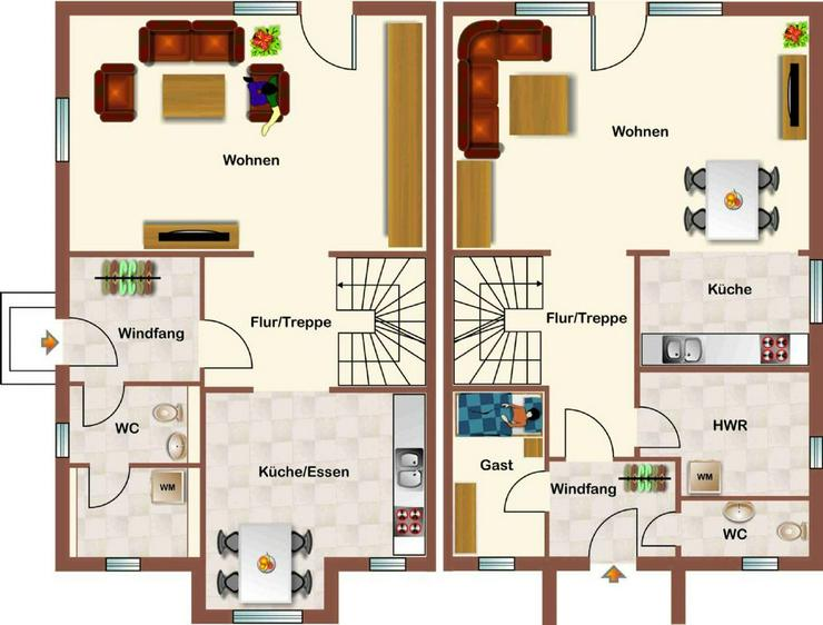 Bild 2: **Niedernhausen - in Waldrandlage! Neubau Massivhaus mit Wärmepumpe u. vielen Extras!