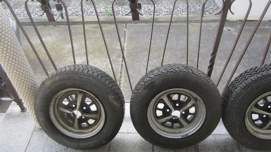 4 Stahlsportfelgen Opel Manta,Kadett,Ascona