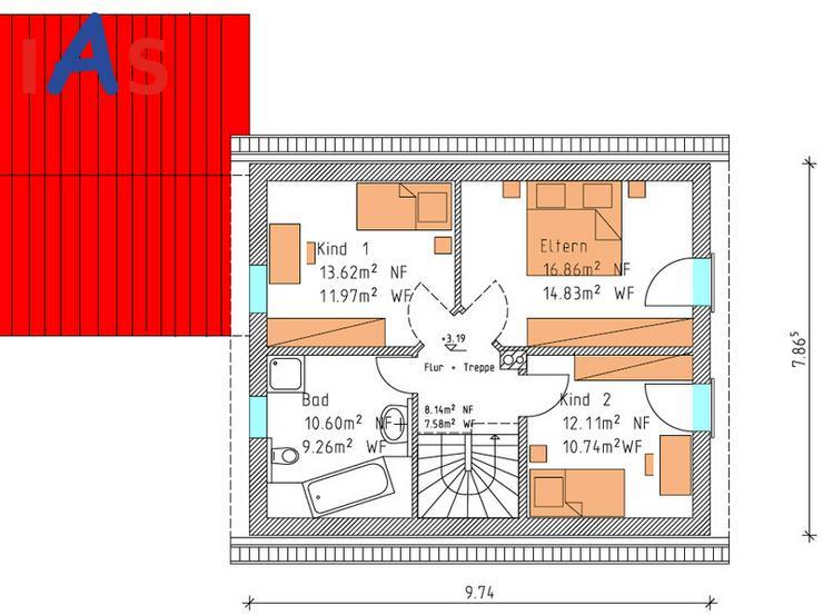 Bild 3: Herrliche Ortsrandlage ... und herrliches EFH mit Einliegerwohnung! Neubau!
