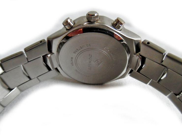 Bild 3: Sportlich elegante Armbanduhr von Dunlop