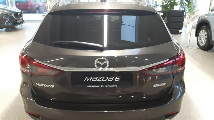 Mazda6 Kofferraumabdeckung Kombi Neu
