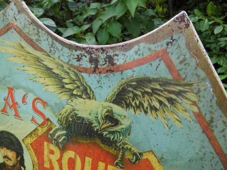 Bild 3: Eisen Wandschild ROUTE 66 / Blechschild Highwa