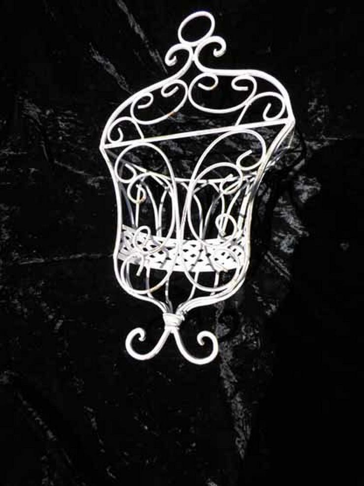 Bild 4: Blumenkorb - Wandkorb Shabby Chic / Antik Stil