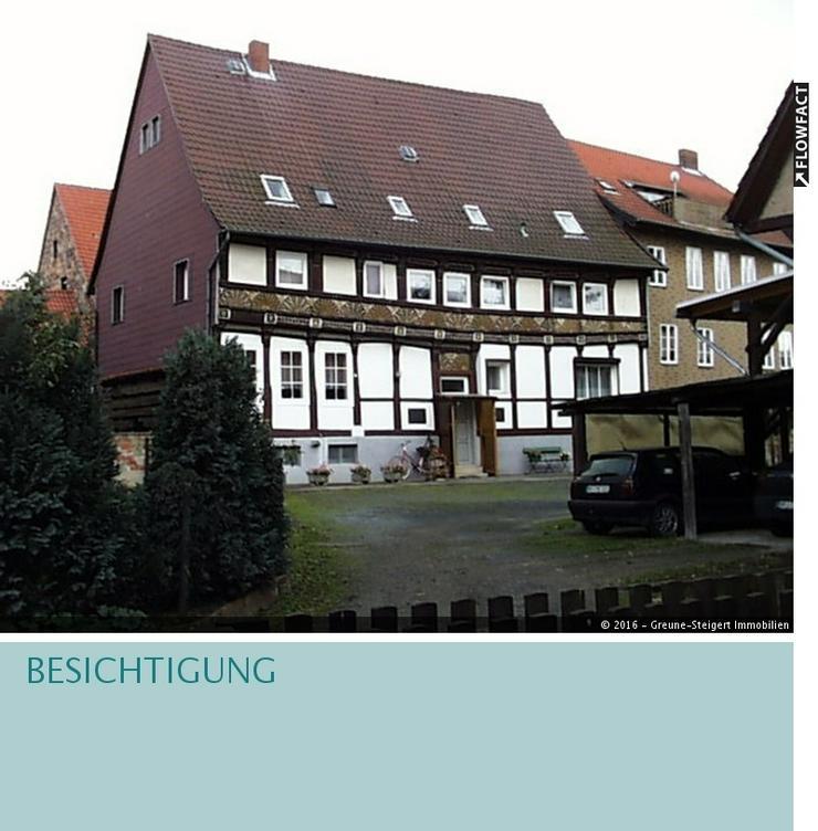*** Historisches Fachwerkhaus (Denkmalschutz) in Hornburg *** - Haus kaufen - Bild 1
