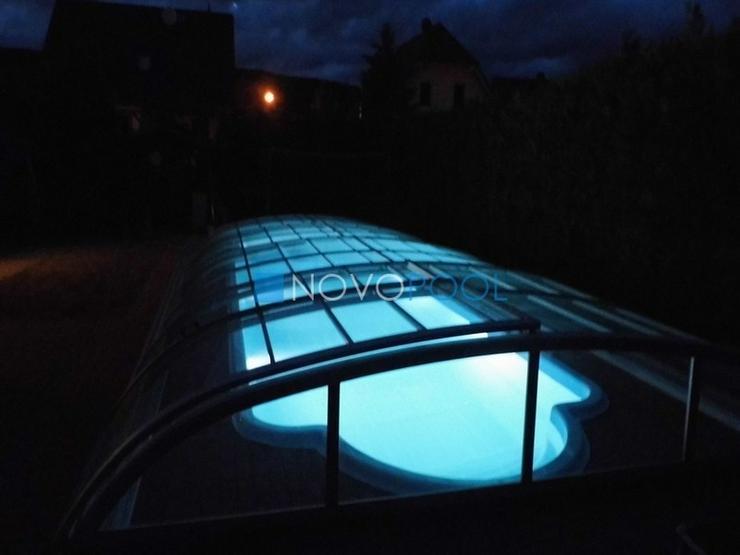 Bild 2: Pool Überdachung Elegant 8, Schiebendach!!!