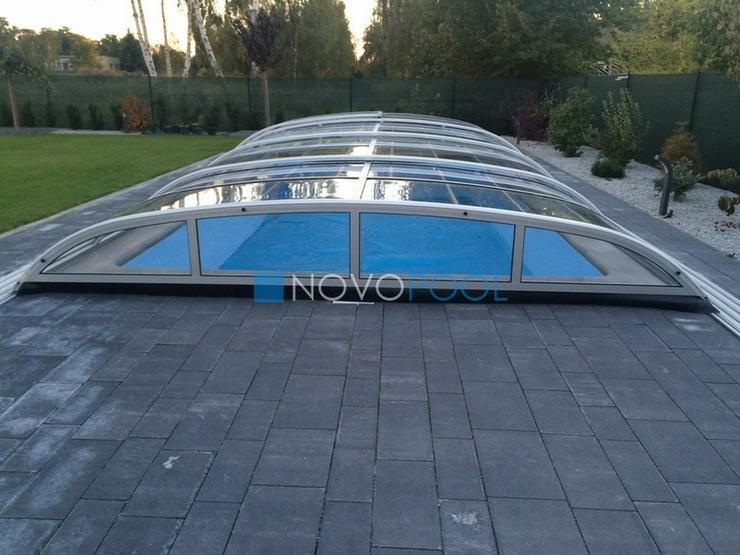 Bild 4: Pool Überdachung Elegant 8, Schiebendach!!!