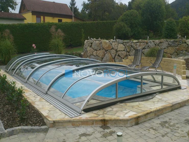 Pool Überdachung Elegant 8, Schiebendach!!!