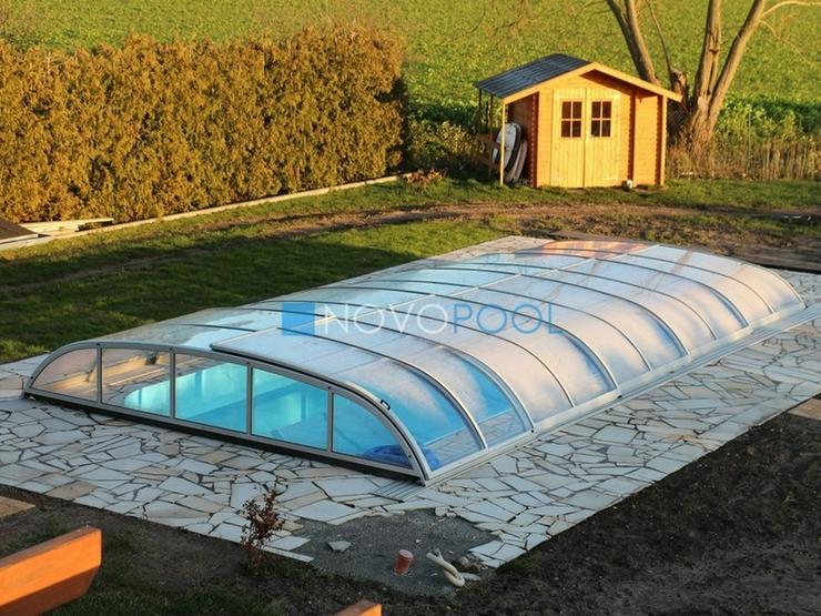 Bild 5: Pool Überdachung Elegant 8, Schiebendach!!!