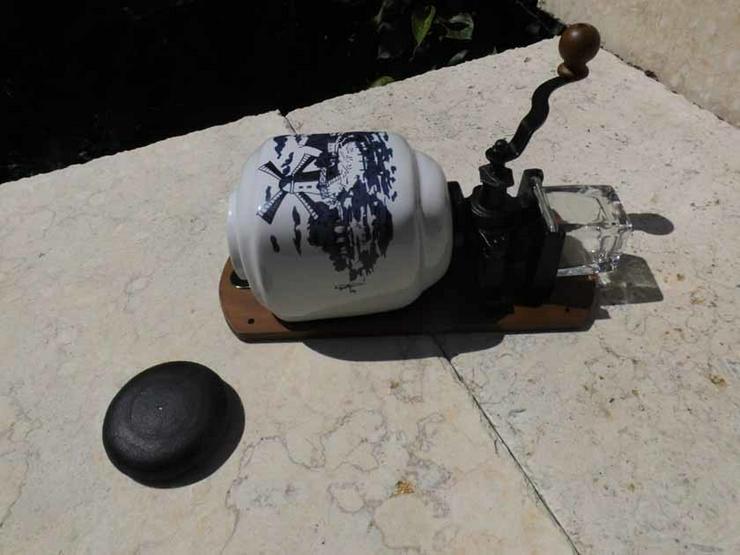 Bild 5: DEKO Nostalgische Wand - Kaffeemühle, Keramik