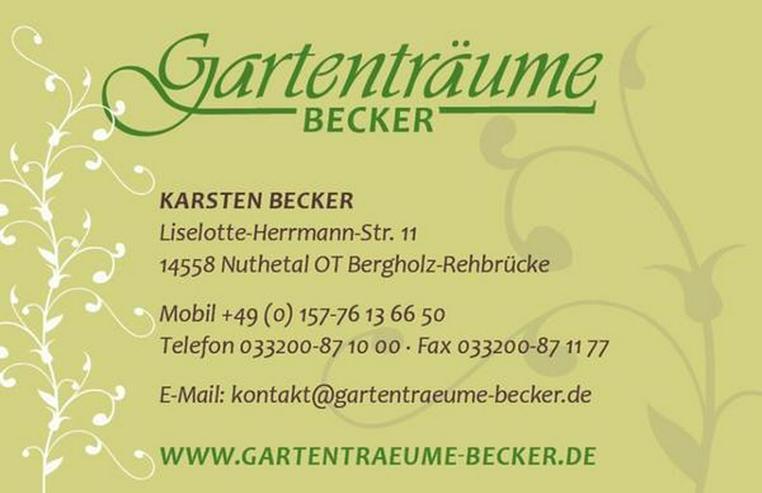 Bild 2: GARTENTRÄUME-TEAM sucht Verstärkung!