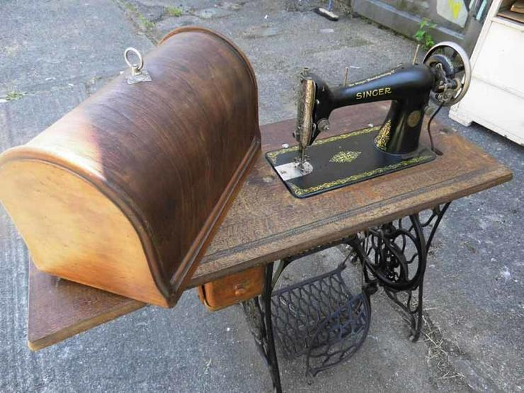 Antike Singer Nähmaschine / mechanische Nähmas