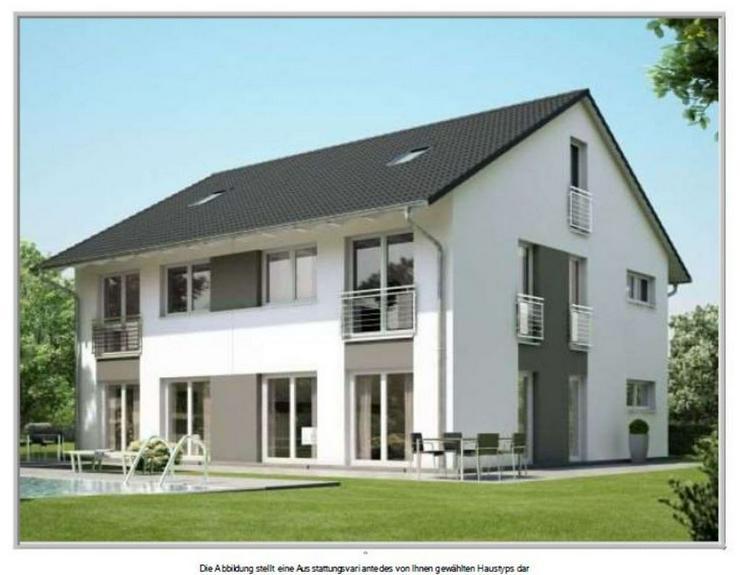 Doppelhaushälfte bei Weilburg Niedrigenergiehaus mit Wärmepumpe u. KfW-55-Paket! - Haus kaufen - Bild 1