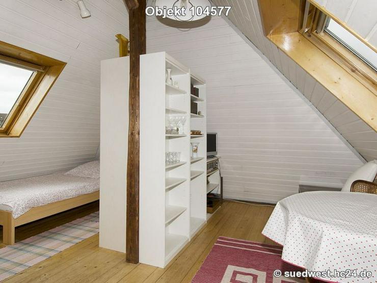 Mannheim-Neckarstadt-Ost: Möbliertes Apartment - im Dachgeschoss