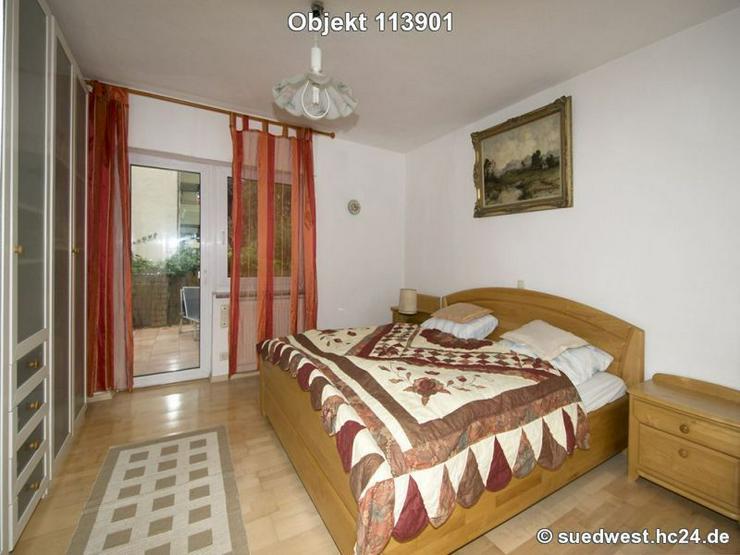 Bild 2: Ladenburg: Gediegene möblierte 4-Zi-Wohnung mit zwei Balkonen und Terrasse