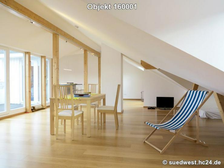 Heidelberg-Weststadt: Großzügiges Dachstudio mit Terrasse