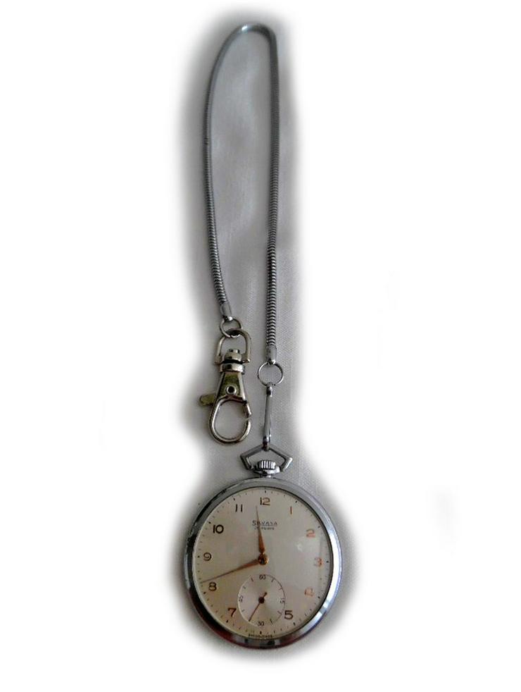 Seltene Taschenuhr von Silvana