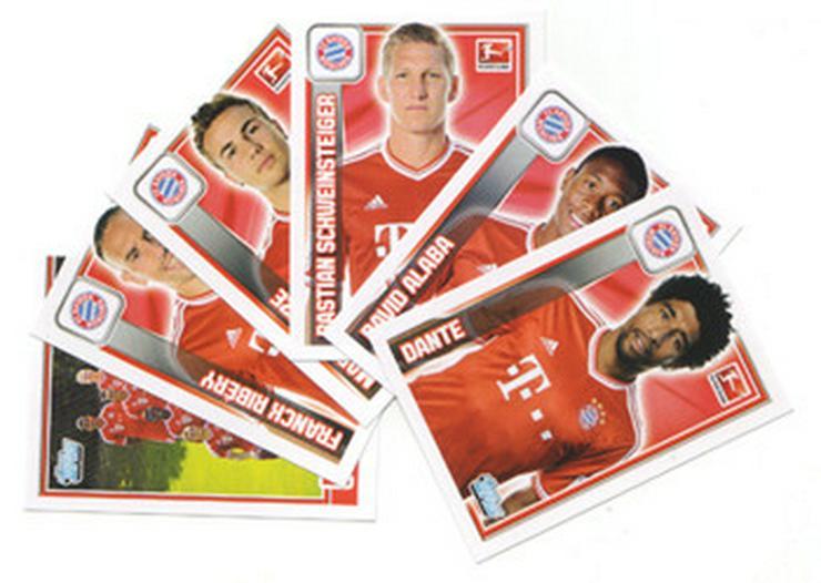 Suche Sticker von Fussball- und StarWars Serien - Sammelbilder & Sammelkarten - Bild 1