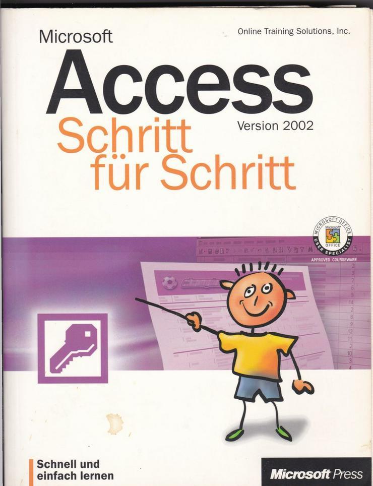Bild 4: Access - Bücher zur MS Datenbanksoftware